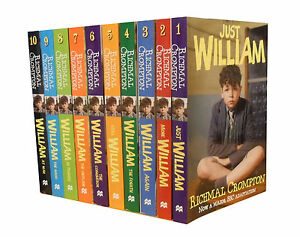 Just-William-Collection-Richmal-Crompton-10-Books-Full-Set-Pack-TV-Tie-Edition
