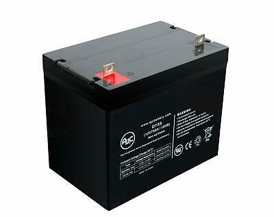AJC 12V 75Ah Sealed Lead Acid - AGM - VRLA Battery