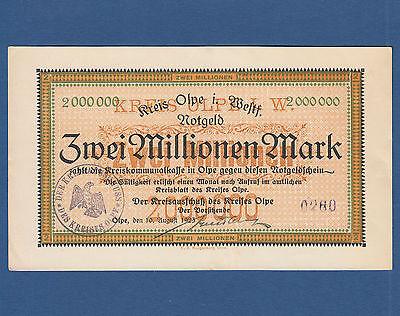 OLPE 2 Millionen Mark 1923 II / XF