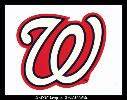 Washington Nationals Baseball Mlb Decal Sticker Team Logo~buy 1 Get 1 30% Off