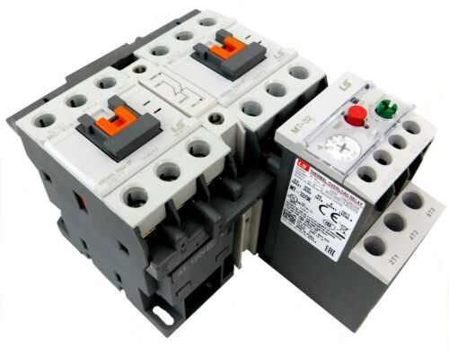 LSis Reversing Motor Starter 20HP @ 480V, 22-32 Amp Overload 120V Coil UL