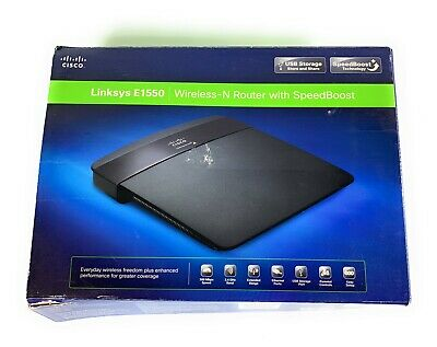 Linksys E1550 300-Mbps 4-Port 10/100 Wireless-N Router with SpeedBoost, used for sale  Shipping to Nigeria