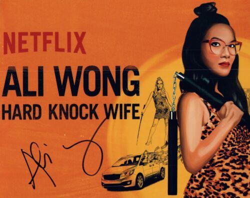 Ali Wong Signed Autographed 8x10 Photo HARD KNOCK WIFE Comedian COA