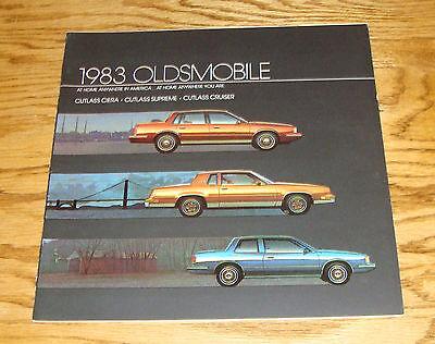 Original 1983 Oldsmobile Cutlass Ciera Supreme Cruiser Deluxe Sales Brochure 83 ()