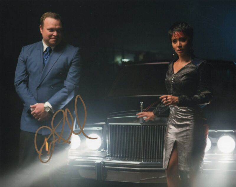Drew Powell signed 8x10 Photo w/COA Gotham Butch Batman