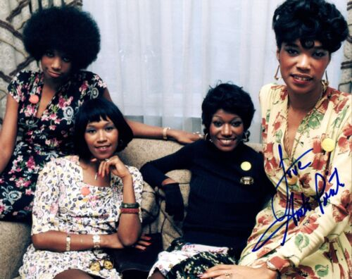Anita Pointer Signed Autographed 8x10 Photo THE POINTER SISTERS COA