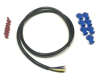 Car Van 5Amp Cable Electrical Relay Wire Flex 7 Cores Towball and Connectors
