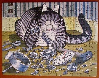Vintage 1997 Kliban Cat Mini Puzzle