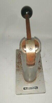 Parr Instrument Pellet Press For Calorimeter