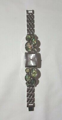 NY&C**Womens Silver Modernist Style Quartz Watch
