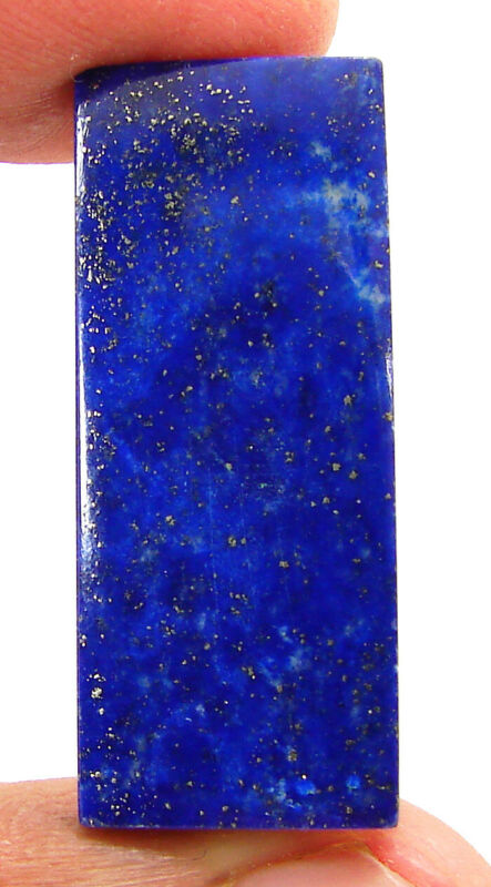 26.95 Ct Natural Lapis Lazuli Loose Gemstone Cabochon Wire Wrap Stone - 40291