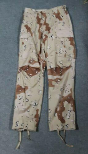 USGI Six Color Desert Chocolate Chip Camouflage DBDU Pants Small #888