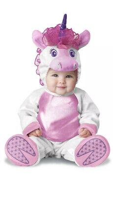Lil' Unicorn Infant 0-6 Months Costume Baby 3 Piece Set