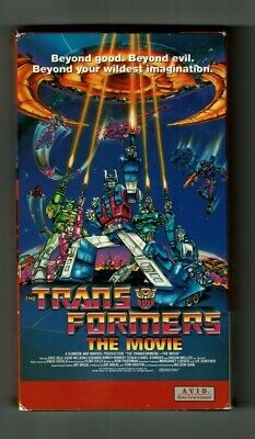 Transformers The Movie VHS Avid Entertainment