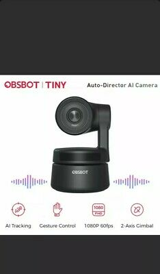 OBSBOT Tiny 2-Axis gimbal Auto-Director 4K AI Camera AI track Webcam 1080P/30fps