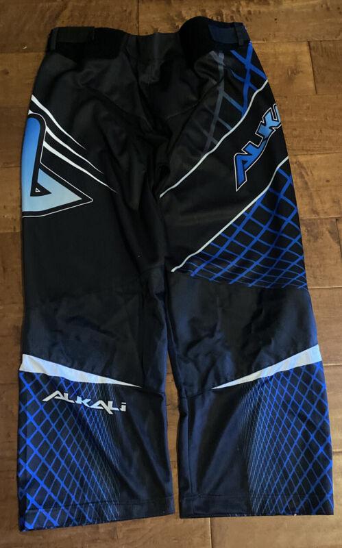 Alkali Senior Roller Goalie Hockey Pants Black/Blue