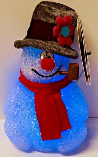 Frosty The Snowman Christmas Color Changing Light-Up Figure
