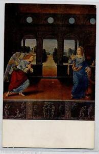 LORENZO-DI-CREDI-Angelo-dell-039-Annunciazione-Angel-PC-circa-1910-Italy