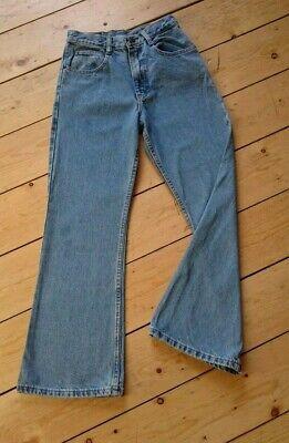 Girls American authentic, Jordache jeans, bootcut, blue denim, size 14.