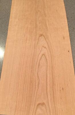 Cherry Wood Veneer 3 Sheets 34 X 16 11 Sq Ft.