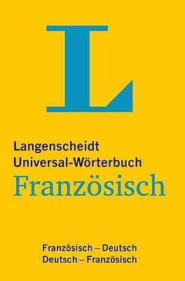 LANGENSCHEIDT Universal-Wörterbuch Französisch-Deutsch / Deutsch-Französisch