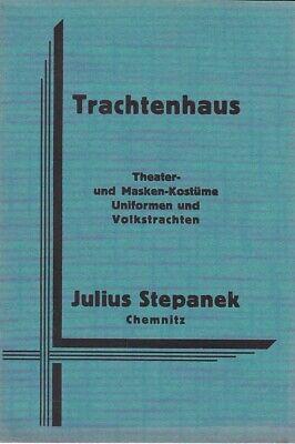 Trachtenhaus J.Stepanek Chemnitz - Deutsche Uniform Kostüm