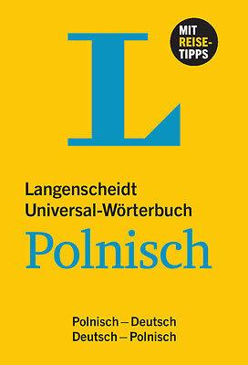 """LANGENSCHEIDT """"Universal-Wörterbuch"""" Polnisch-Deutsch / Deutsch-Polnisch"""