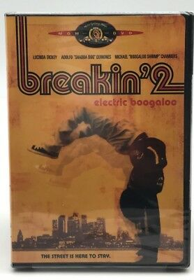 Breakin 2 Electric Boogaloo - The Street is here to stay (DVD) Sealed! Brand New