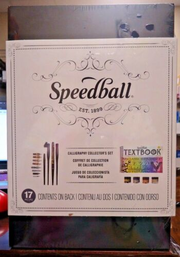 NEW!! Speedball 17pc Calligraphy Collector