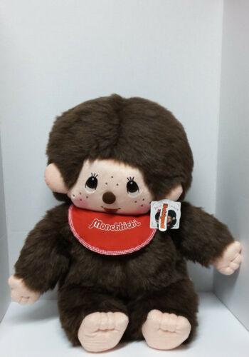 """Sekiguchi Monchhichi Monkey Plush With Tags 22"""""""