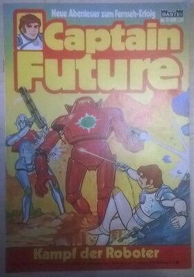 "Captain Future Comic BASTEI, Nr. 11 ""Kampf der Roboter"""