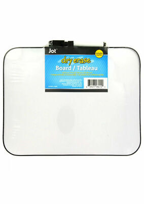 Jot Mini Dry Erase Boards Magnetic With Eraser-topped Markers