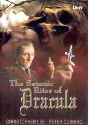The Satanic Rites of Dracula (DVD, 2006) Christopher Lee And Peter Cushing (Halloween And Satanism)