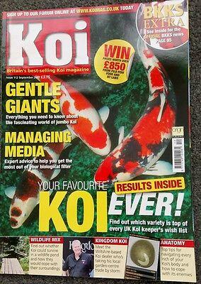 KOI MAGAZINE ~ SEPTEMBER 2007 ~ ISSUE 112