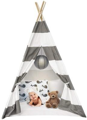 (Sorbus Kids Foldable Teepee Play Tent Playhouse Classic Indian Style Play Tent a)