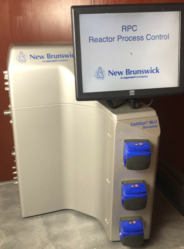 New Brunswick CelliGen BLU BioReactor 60 Day Warranty - Works - See Video!