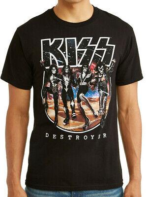 Kiss Classic Album Destroyer Rock 70's T-Shirt mens S-3XL Vintage Style - 70s Mens Fashion