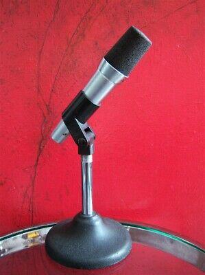 Vintage RARE 1960's Altec D80C dynamic cardioid microphone w clip High Z Shure