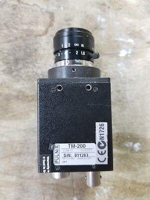 Microscope Inspection Tm-200 Video Camera Ccd Pulnix  Fs5