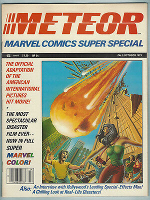 Marvel Super Special 14 NM- 1979 Meteor Movie Adaptation Comic Magazine Miller