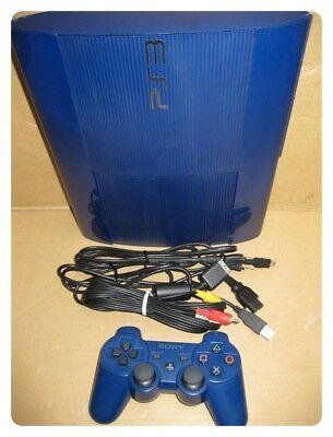 USED PlayStation 3 250 GB Azura Blue PS3 CECH-4000B F/S Japan EMS