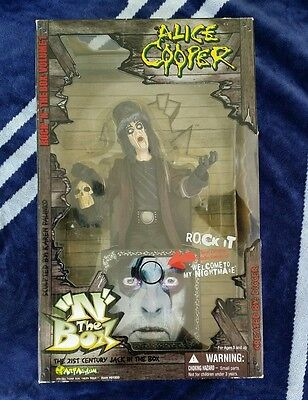 Halloween Jack In The Box (NEW RARE Alice Cooper Rock