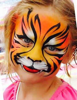 Face painting party entertainment