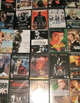 Job lot DVDs ***Any 15 for £9.00*** (only 60p each)