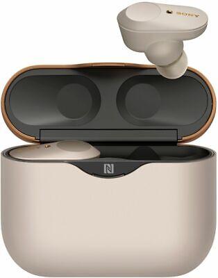 Sony WF1000XM3 True Wireless Bluetooth NC Noise Canceling Headphones - Silver
