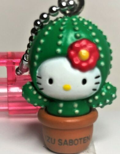 New Genuine SANRIO IZU Limited With CACTUS KITTY Charm Mechanical Pencil Japan