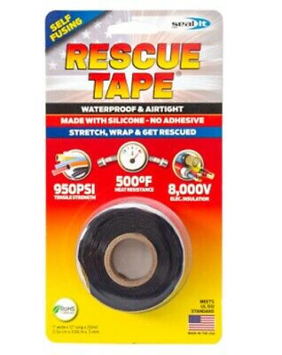 Rescue Tape Rt12012bbl Silicone Repair Tape 1 Inch X 12 Feet