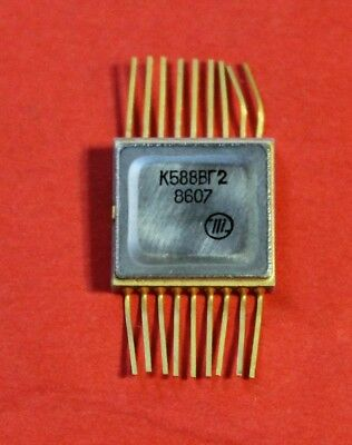K588vg2 Ic Microchip Ussr Lot Of 1 Pcs