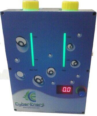Hho Dry Cell Kit Hydrogen Generator Fuel Save 24 Volt System Zero Emsson