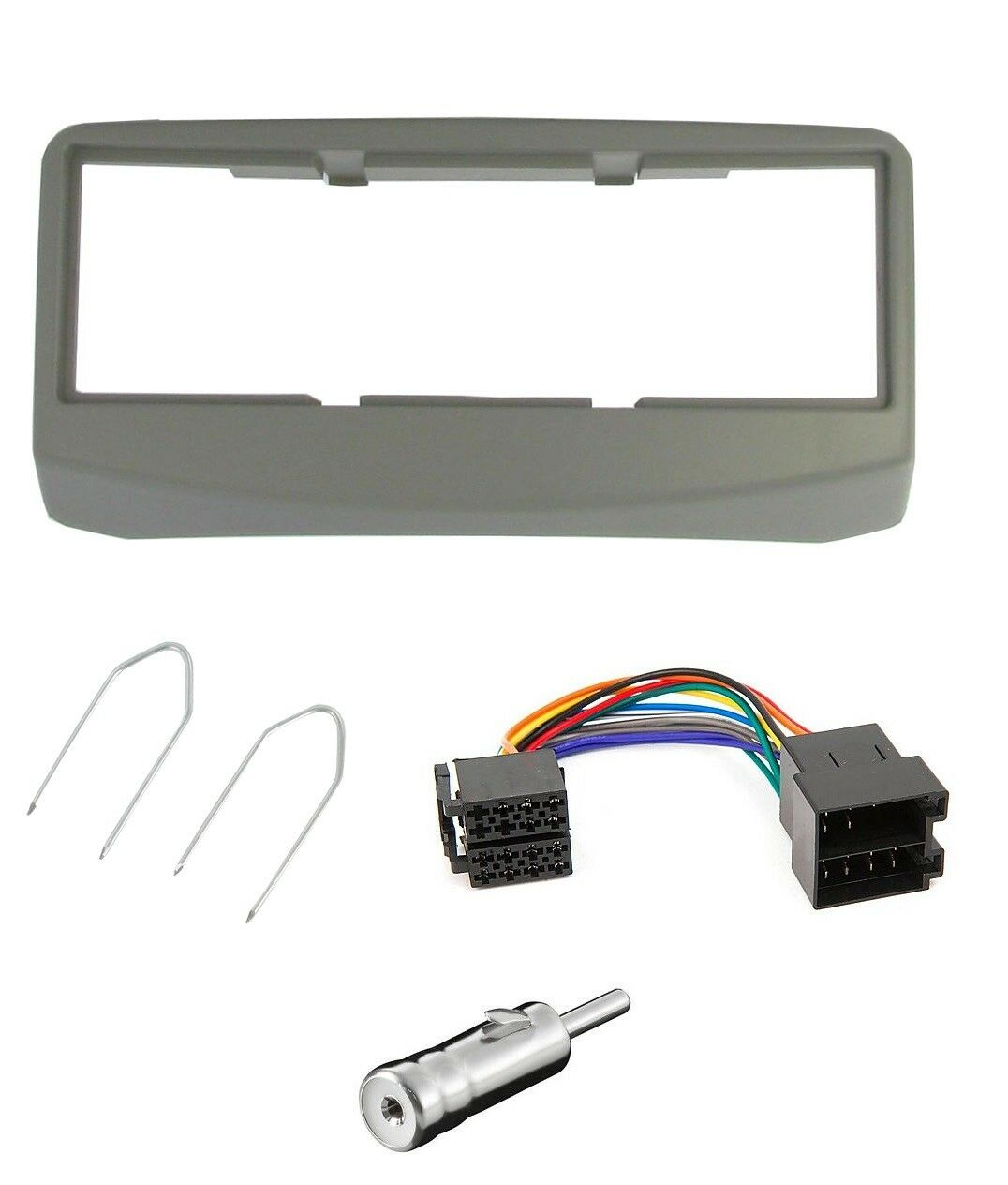 Fiat 500 Car CD Panel Plate Fascia Facia Surround Adaptor Car Stereo Fitting Kit